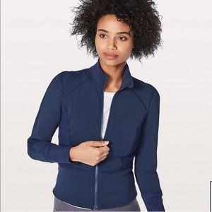 Lululemon Front and Center Jacket in Hero Blue 10